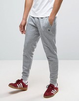 Polo Ralph Lauren Slim Fit Cuffed Jogger In Grey Marl