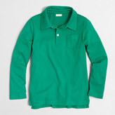 J.Crew Factory Boys' long-sleeve polo shirt