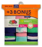Fruit of the Loom Girls' Classic Briefs - 4