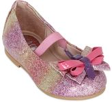 Bloch Glittered Patent Leather Ballerinas
