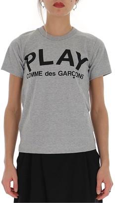 Comme des Garcons Logo Printed T-Shirt