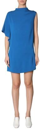 Lanvin Asymmetrical Short Dress