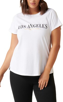 Ever New Los Angeles Graphic Tee