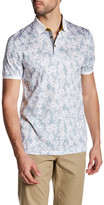 Ted Baker Floral Printed Polo Shirt