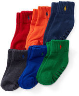 Ralph Lauren Sport Sock 6-Pack