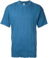 SASQUATCHfabrix. ribbed stripes T-shirt - men - Cotton - M