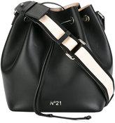 No.21 drawstring bucket bag - women - Leather - One Size