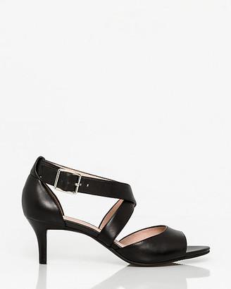 Le Château Leather Criss-Cross Sandal