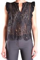 Pinko Women's Black Polyamide Top.