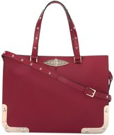 RED Valentino star studded tote - women - Calf Leather/Metal (Other) - One Size
