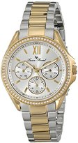 Lucien Piccard Women's LP-10052-SG-22S Eclipse Two-Tone Stainless Steel Watch