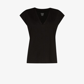 Frame v-neck T-shirt