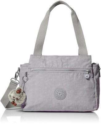 Kipling Elysia Slate Grey Tonal Handbag