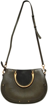 Chloé Pixie Green Leather Handbags