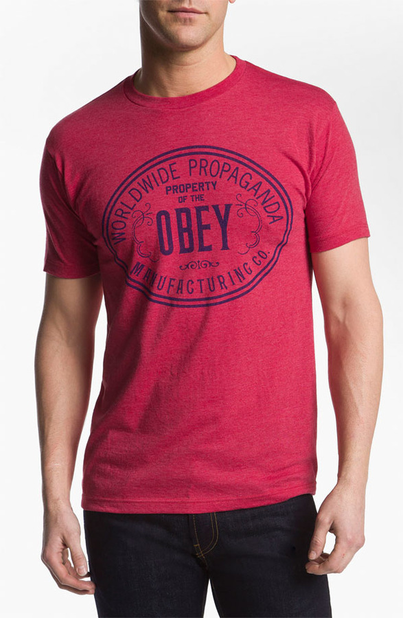 Obey 'Property of Obey' T-Shirt