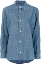 A.P.C. classic fitted denim shirt