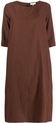 Antonelli Three-Quarter Sleeve Shift Dress