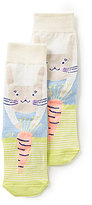 Joules Girls' Bunny Character Socks