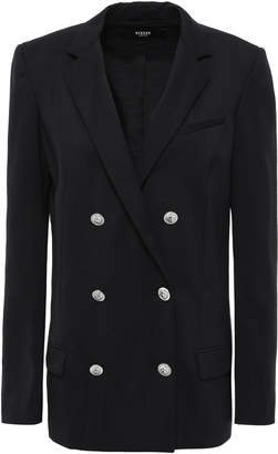 Versace Double-breasted Wool-blend Twill Blazer