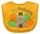 Hamco My First Thanksgiving Appliqued Feeder Bib