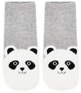 Forever 21 FOREVER 21+ Panda Bear Graphic Ankle Socks
