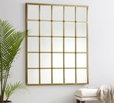 Pottery Barn Eagan Multipanel Large Mirror - Brass