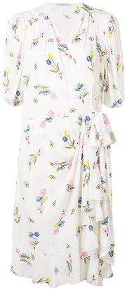 VIVETTA printed midi dress