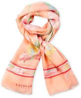 Leonard Printed Silk Scarf