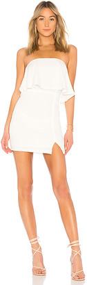 superdown Catalina Ruffle Tube Mini Dress