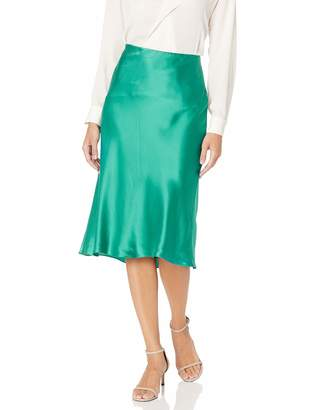 Rebecca Taylor Women's Bias Cut Charmeuse Midi Skirt