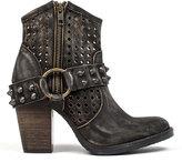 Coolway Black Aviva Leather Bootie