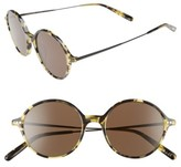 Oliver Peoples Women's Corby 51Mm Round Sunglasses - Black