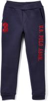 U.S. Polo Assn. Navy & Red 'U.S. Polo' Sweatpants - Boys