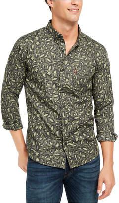 Levi's Men Animal Print Button-Down Shirt