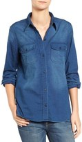 Current/Elliott The Perfect Denim Shirt