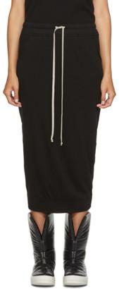 Rick Owens Black Pillar Skirt