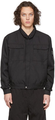 Random Identities Black Japanese Workwear Harrington Jacket