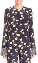 Mother of Pearl Hester Floral-Print Blouse