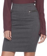 Joe B Juniors' Joe B Zipper Pocket Pencil Skirt