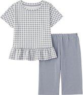 Uniqlo Girls DRY Short Sleeve Pajamas