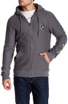 Volcom Two Shirts Graphic Zip Hoodie