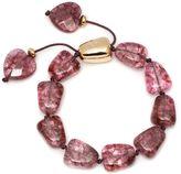 Lola Rose Regina Burgundy Rock Crystal Bracelet