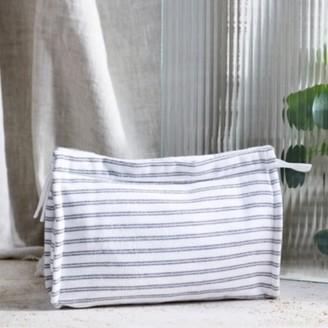 The White Company Stripe Fabric Wash Bag , Multi, One Size