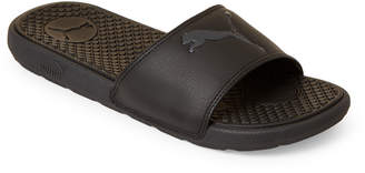 Puma Black Cool Cat Sport Slide Sandals