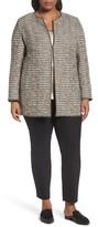 Lafayette 148 New York Plus Size Women's Pria Tweed Jacket