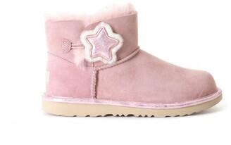 UGG Kid Mini Bailey Button II Star Boots