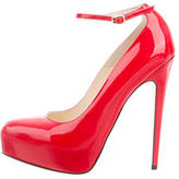 Brian Atwood Patent Ankle-Strap Pumps w/ Tags