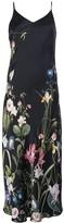Madison.Maison Leah floral-print silk dress