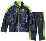 adidas Boys 4-7x Track Jacket & Pants Set