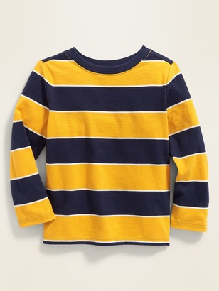Old Navy Striped Long-Sleeve Tee for Toddler Boys